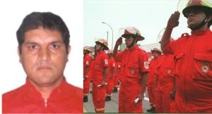 Bombero Juan Carlos Gutiérrez Segura