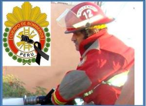 Bomberos del Perú de luto