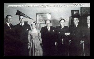 aaa-Embajador Porras  Madrid delegación AAA 1949