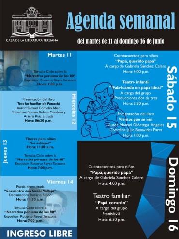 Casa de la Literatura Peruana 11 al 16 Jun.2013