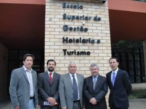Delegación peruana en la Universidad de Algarve – Portugal