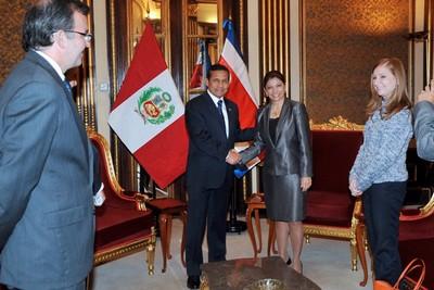 Ollanta Humala y Laura Chinchilla
