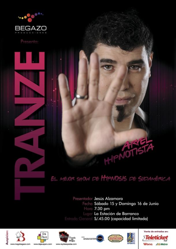 Tranze hipnotista Aryel poster