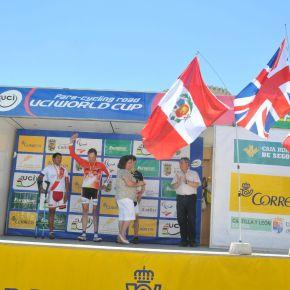 Peruano Israel Hilario gana la medalla de Plata en la Copa del Mundo Uci2013