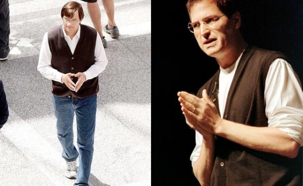 ashton kutchers - vs - steve jobs