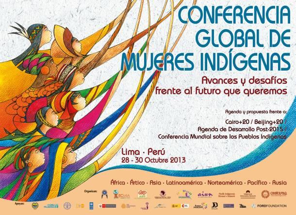 Mujer indígena Conferencia Global 2013