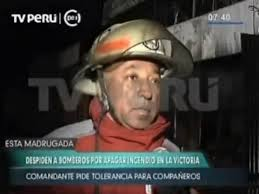 Comandante  Bombero Alejandro León