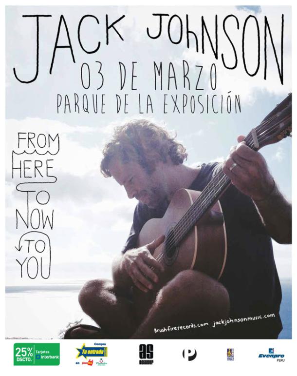 Jack Johnson en Lima