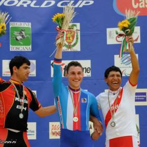 Israel Hilario gana Medalla de Bronce para Perú en la Copa del mundo en Ciclismo Paraolímpico2014