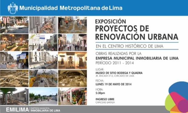 PROYECTOS DE RENOVACIÓN URBANA DE LIMA