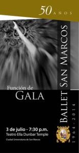 50 años del Ballet San Marcos