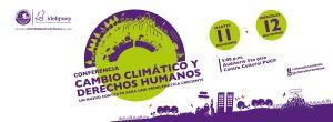 Cambio Climático y Derechos Humanos 11 y 12 de noviembre en el Centro Cultural PUCP
