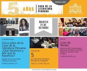 Csa de la Literatura Peruana