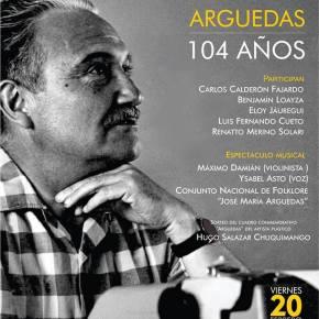 Homenaje a José María Arguedas por sus 104años