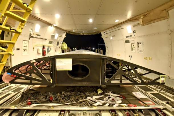 avión solar fuselaje