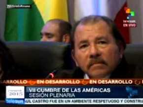 Presidente de Nicaragua dice que Obama tiene buena voluntad, pero el sistema político de EE.UU. no le permitirá anular decreto sobreVenezuela