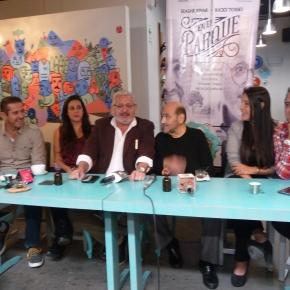 Un encuentro de amistad y experiencia vivirán 'En el parque' Edgar Vivar 'Señor Barriga' y RickyTosso