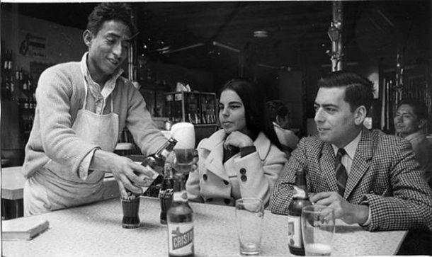 Mario Vargas Llosa y su prima Patricia Llosa