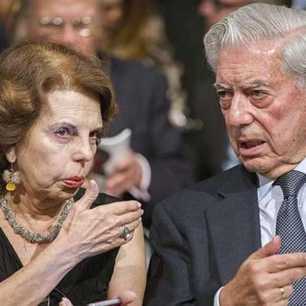 MVLL y Patricia Llosa adultos