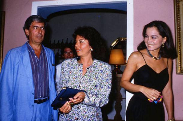 MVV, Patricia Llosa e Isabel Preysler
