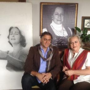 Concierto 'Con alma de Chabuca Granda', del artista argentino E-Zequiel y el documental teatral con Teresa FullerGranda