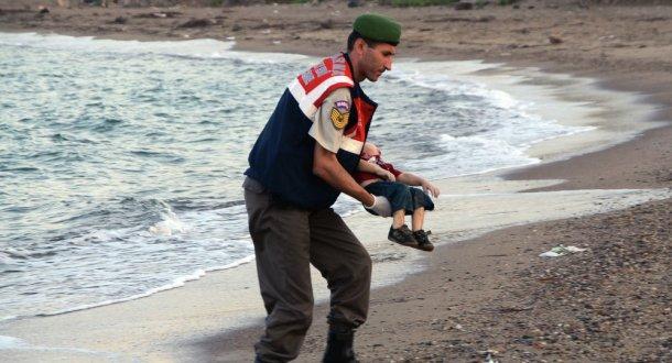 Niño sirio Ayrán víctima de la guerra