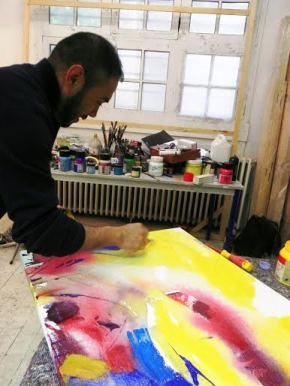 """Artista peruano Juan Carlos Zeballos participará en el  """"69 Salon Realities Nouvelles"""" en París,Francia"""