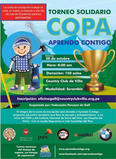 Torneo solidario Copa Aprendo Contigo