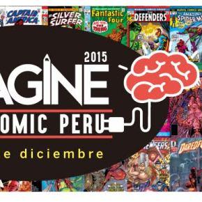 IMAGINE EXPO COMIC PERÚ 2015 organizado por el ICPNA el 4 y 5 deDiciembre