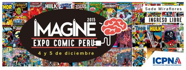 IMAGINE EXPO COMIC PERÚ 2015