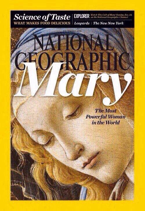La Virgen María en National Geographic