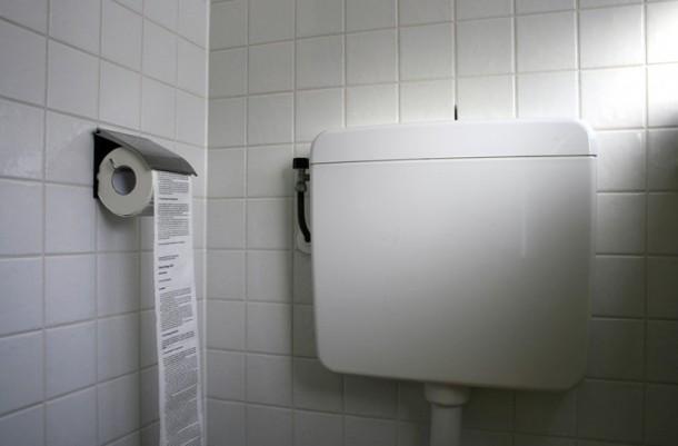 toilet paper IPCC Report