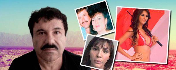 El Chapo y sus mujeres