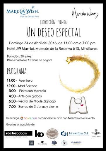 Marcelo Wong y Nicole Zignago se unen a Make a Wish Perú
