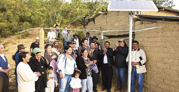 Vallegrande Bolivia paneles solares