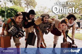'Casi Don Quijote': música en vivo y humor para toda lafamilia