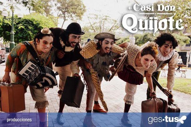 Casi Don Quijote música en vivo y humor para toda la familia