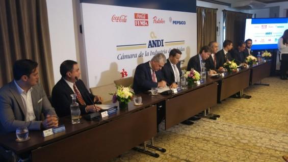 Empresarios colombianos Cámara de la Industria de Bebidas de la Andi