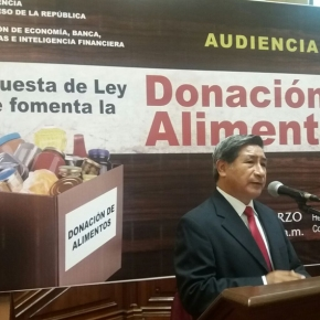 Almacenes y supermercados peruanos no podrán desechar o destruir productos alimenticios de acuerdo con ley aprobada en favor de donación dealimentos