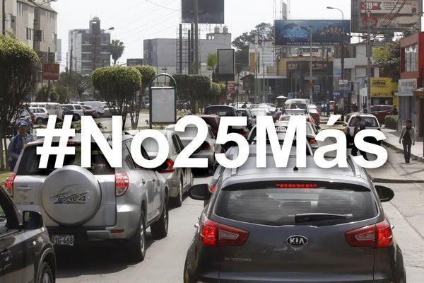 #No25Más