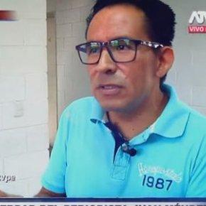 Periodista peruano permanece 10 meses sin sentencia, en prisión por sospecha de ser parte en organización de crimenorganizado