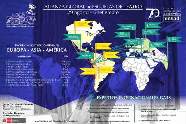 Festival Internacional de Escuelas de Teatro y Expertos GATS 2016