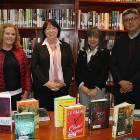 Libros donados por el Club  Literario de Mujeres Americanas (AWLC) estarán  disponibles en bibliotecas del ICPNA de Miraflores y LaMolina