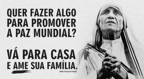 Otra frase de Madre Teresa de Calcuta