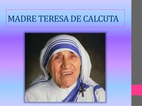 Beata Madre Teresa de Calcuta será canonizada el Domingo 4 deSetiembre