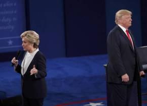 Detector de mentiras de CNN: Clinton vs. Trump en segundo debate por la presidencia de Estados Unidos deNorteamérica