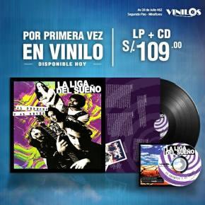 La Liga del Sueño lanza su primer disco enVinilo