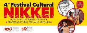 Cuarto Festival Cultural Nikkei se realizará del 19 al 23 de Abril en el Centro Cultural PeruanoJaponés