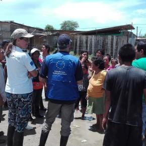 La Unión Europea destina 1.85 millones de euros + 750 mil euros para responder a emergencia climática enPerú