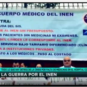 Ministerio de Salud del Perú redujo al INEN 25% de su presupuesto paramedicamentos